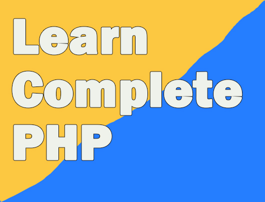 Learn Complete PHP with Project